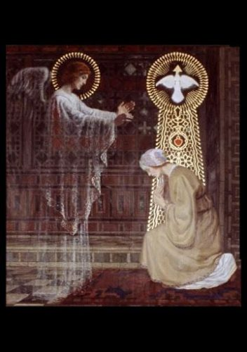 Ավետումն Սուրբ Մարիամ Աստվածածնի. «Ուրախացի՛ր, ո՛վ շնորհընկալ, Տերը քեզ հետ է»։