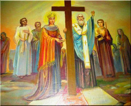 Սուրբ Կոստանդիանոս թագավորի և նրա մոր` Հեղինեի հիշատակության օրն է այսօր: