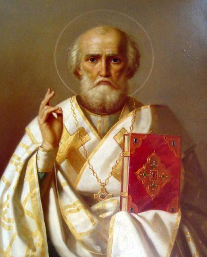 Շաբաթ. Սրբերի հիշատակության օր.  Սուրբ Նիկողայոս Սքանչելագործ Հայրապետ